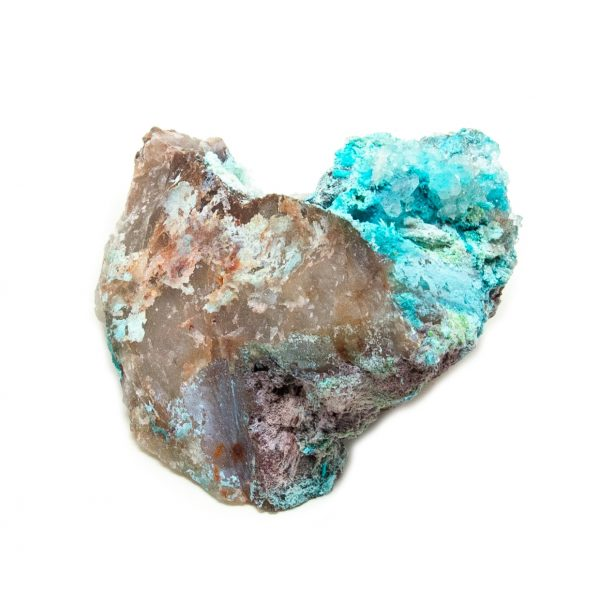 Shattuckite Cluster with Chrysocolla and Azurite-204087