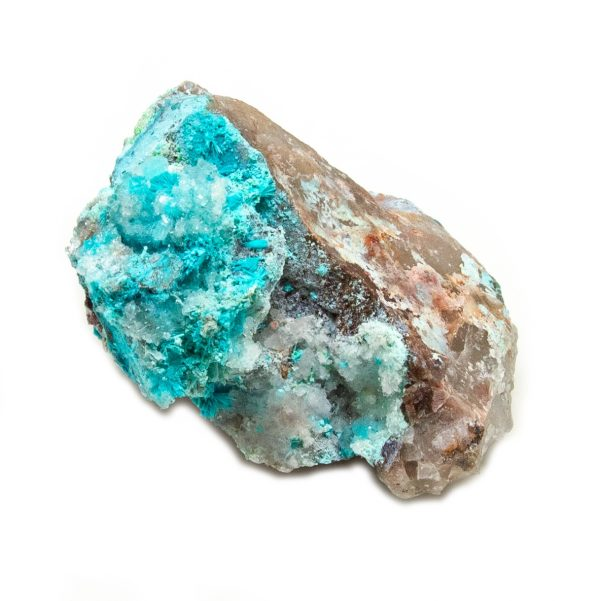 Shattuckite Cluster with Chrysocolla and Azurite-204089