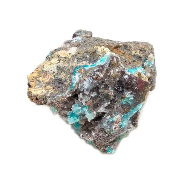 Shattuckite Cluster with Chrysocolla and Azurite-204125