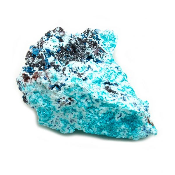 Shattuckite Cluster with Chrysocolla and Azurite-204131