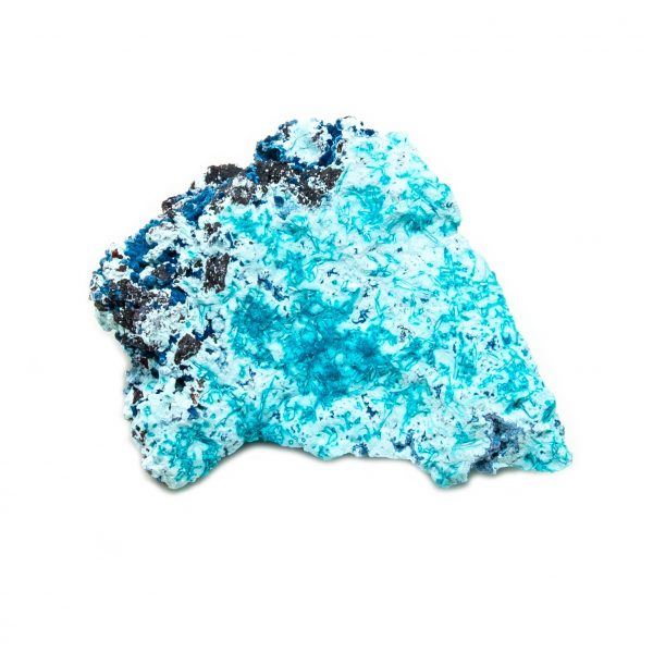 Shattuckite Cluster with Chrysocolla and Azurite-204130