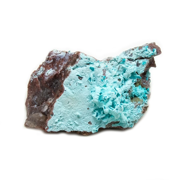 Shattuckite Cluster with Chrysocolla and Azurite-204133