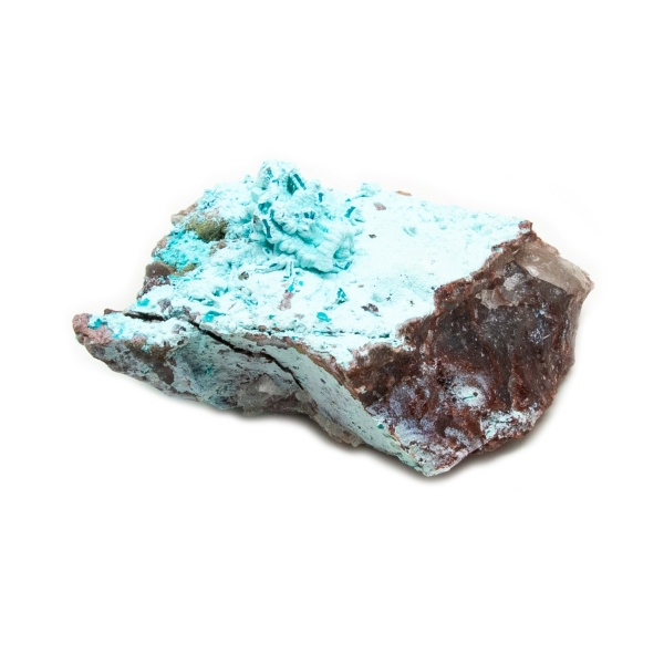 Shattuckite Cluster with Chrysocolla and Azurite-204134