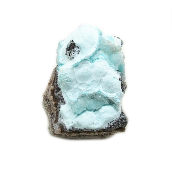 Shattuckite Cluster with Chrysocolla and Azurite-204140