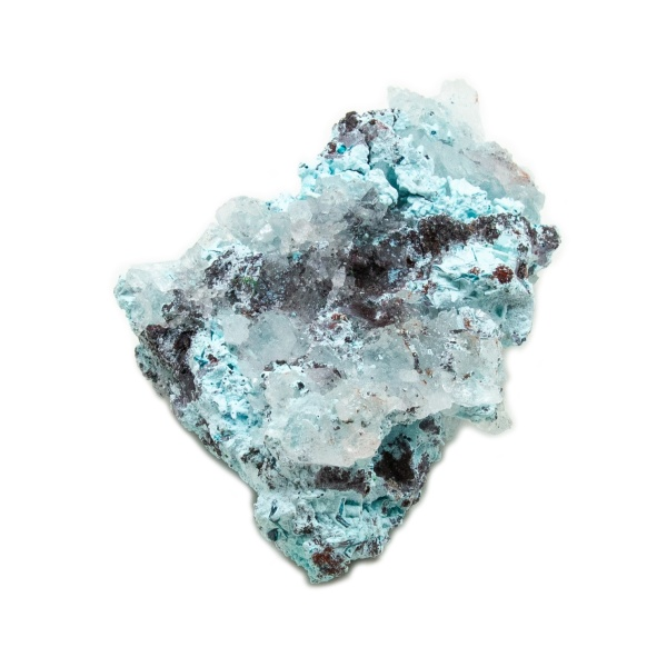Shattuckite Cluster with Chrysocolla and Azurite-204152