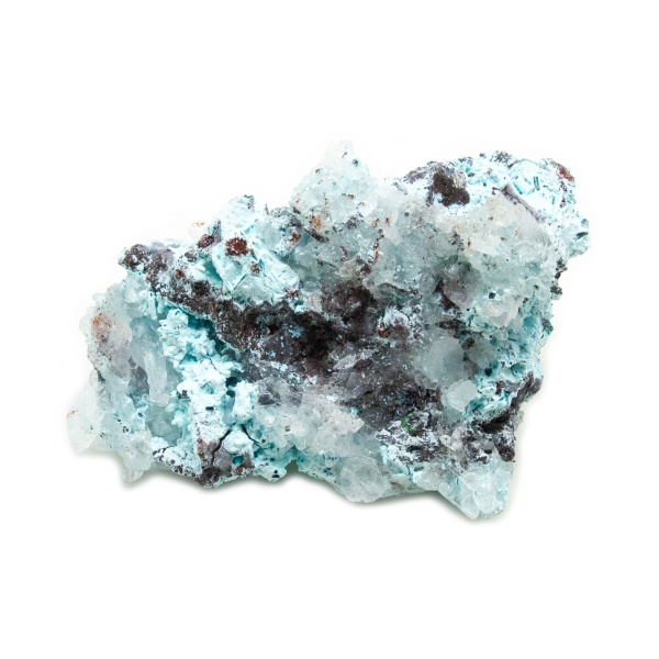 Shattuckite Cluster with Chrysocolla and Azurite-204150