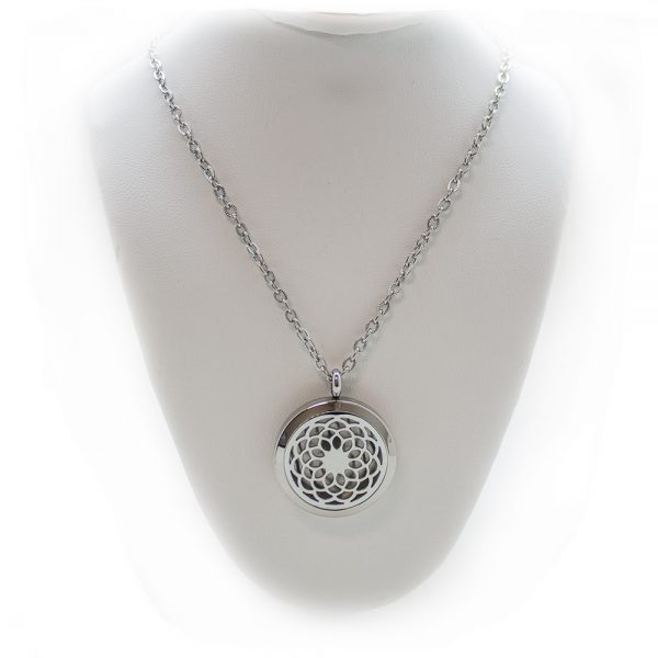 Sacred Geomoetry Aromatherapy Pendant-203850