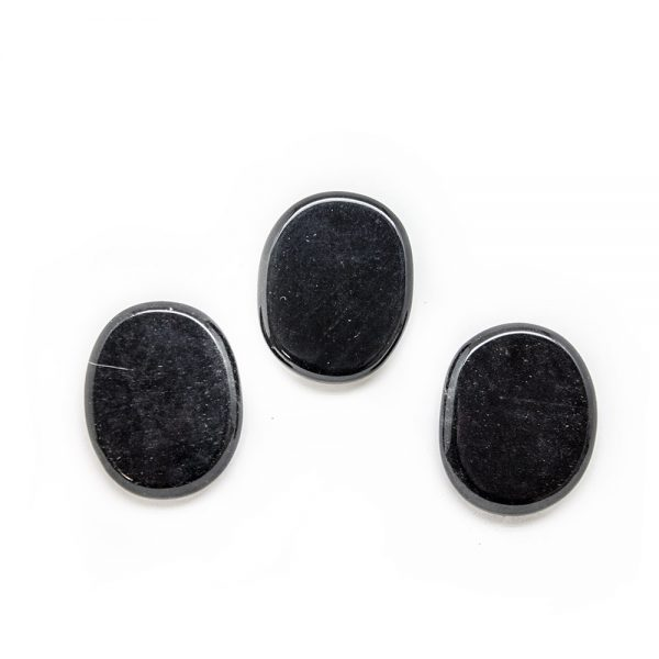 Obsidian Palm Stone-203857