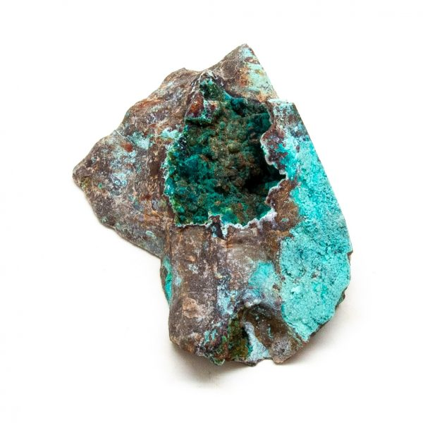 Chrysocolla with Malachite Cluster-205031