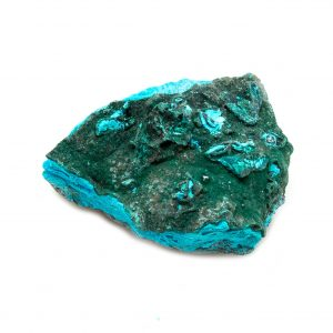 Chrysocolla with Malachite Cluster-0