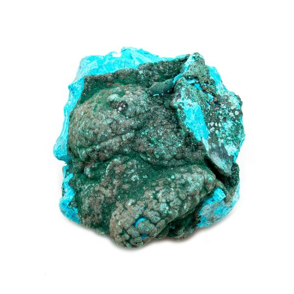 Chrysocolla with Malachite Cluster-205087