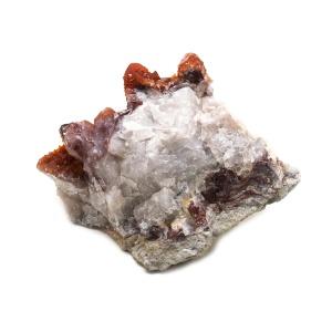 Red Quartz Cluster-0