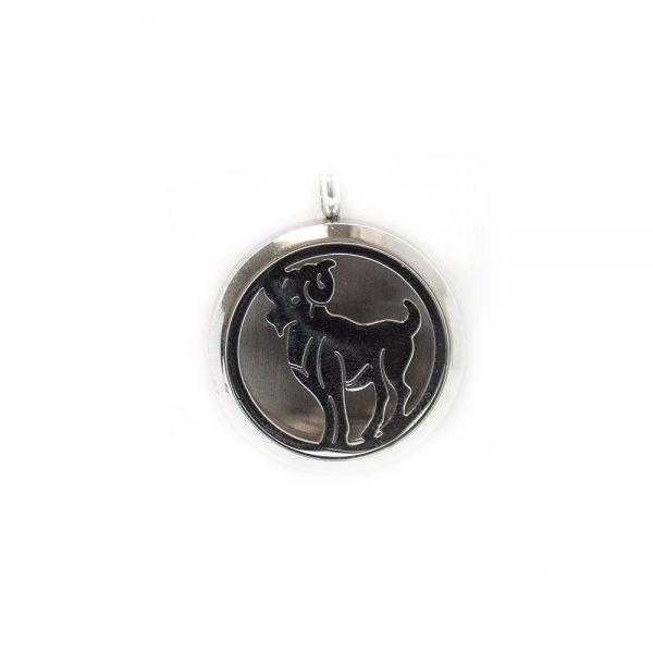 Aries Zodiac Aromatherapy Pendant-0