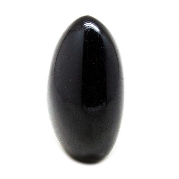 Polished Black Tourmaline Freeform-207154