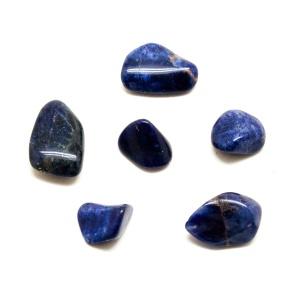 Sodalite Tumbled Stone Set (Small)-0