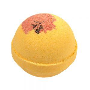 Pumpkin Spice Bath Bomb with Picture Jasper-0