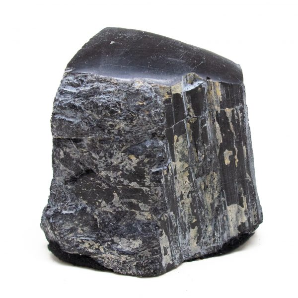 Polished Black Tourmaline Crystal-0