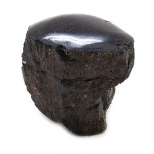Polished Black Tourmaline Crystal-0
