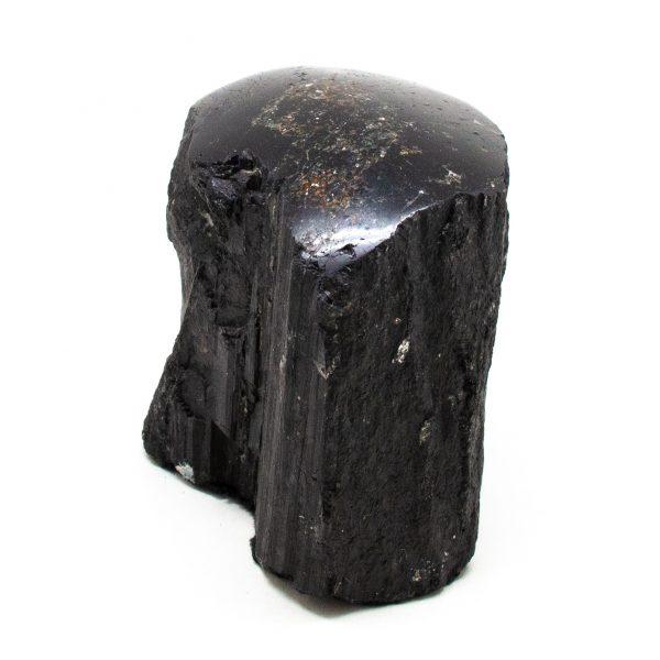 Polished Black Tourmaline Crystal-208452