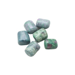 Ruby in Fuschite Tumbled Set Med-0