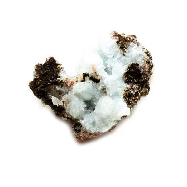 Blue Hemimorphite Cluster-210747