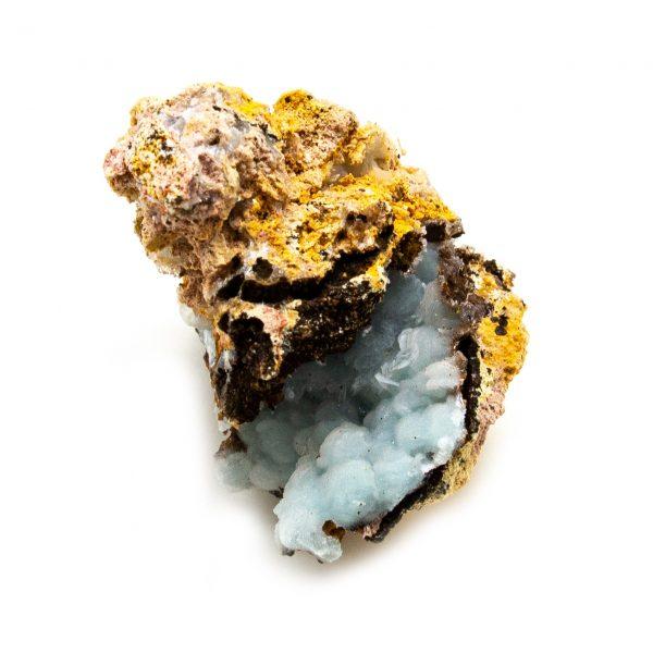 Blue Hemimorphite Cluster-210827