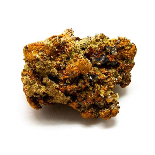 Mimetite with Calcite Cluster-210906