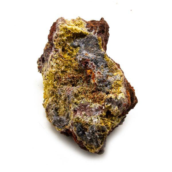 Mimetite with Calcite Cluster-210937