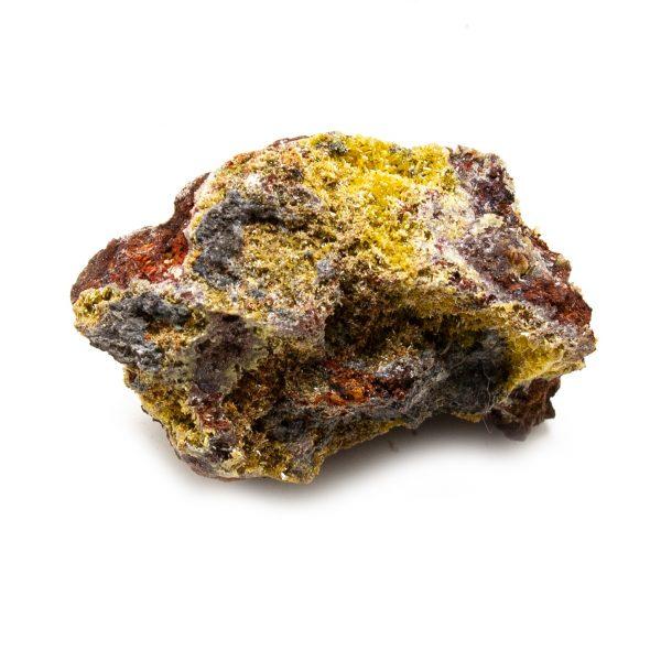 Mimetite with Calcite Cluster-210936