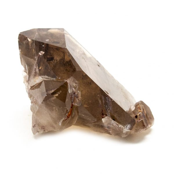 Rutilated Red Epidote in Smoky Quartz Crystal-212268