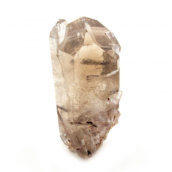 Rutilated Red Epidote in Smoky Quartz Crystal-212273