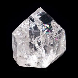 Fire and Ice Quartz Point-0