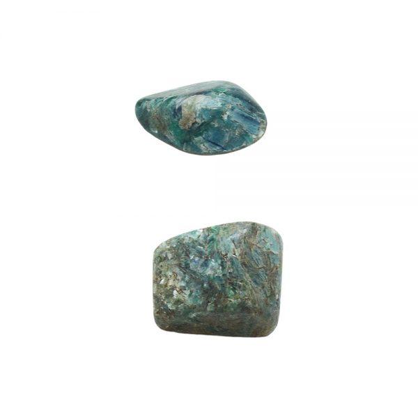 Green Kyanite Small Aura Pair-213051