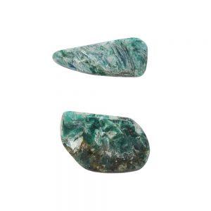 Green Kyanite Small Aura Pair-0