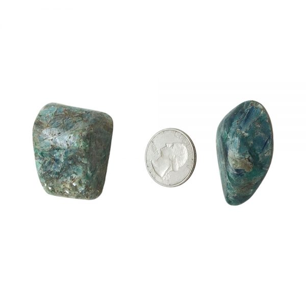 Green Kyanite Small Aura Pair-213053