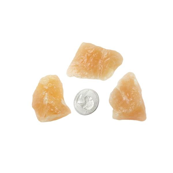Rough Orange Calcite (Medium)-0