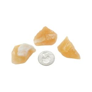 Rough Orange Calcite (Small)-0