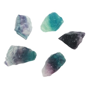 Fluorite Rough Crystal-0