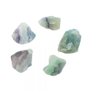 Fluorite Rough Translucent Crystal-0