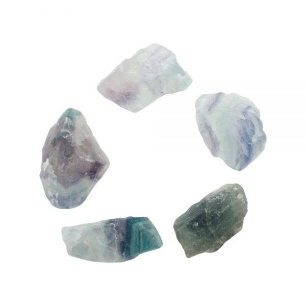 Fluorite Rough Translucent Crystal-210643