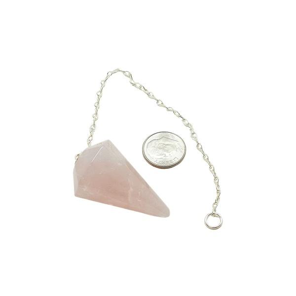 Rose Quartz Pendulum-213326