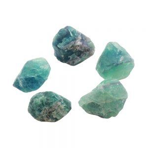 Fluorite Rough Crystal-0
