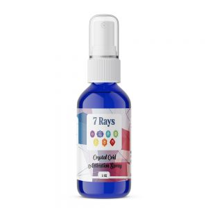 Pre-Order 7 Rays Crystal Grid Activation Spray -0