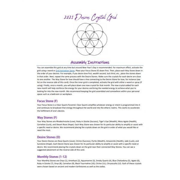 2021 Desires Crystal Grid-216700