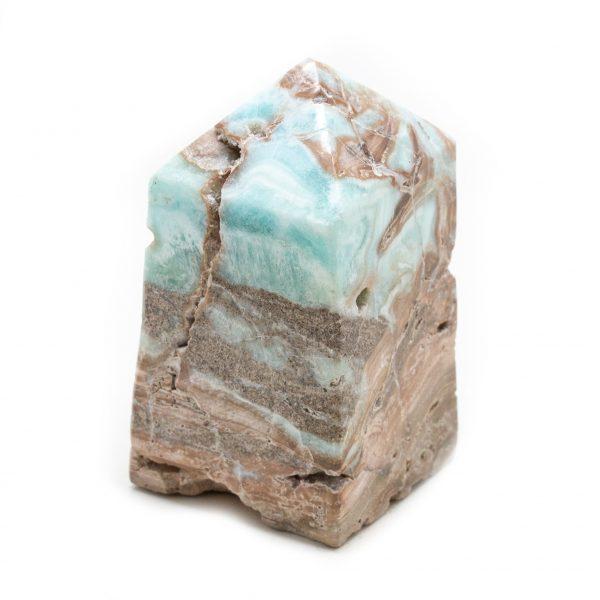 Blue Caribbean Calcite Tower-215087