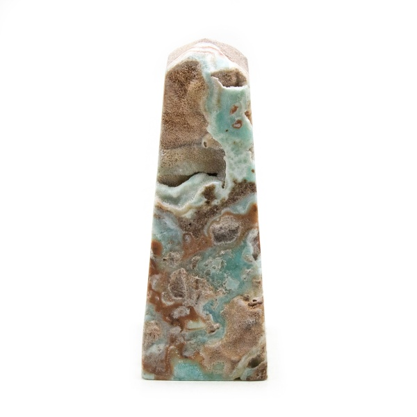 Blue Caribbean Calcite Tower-215160