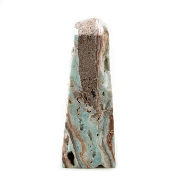 Blue Caribbean Calcite Tower-215162