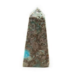 Blue Caribbean Calcite Tower-0