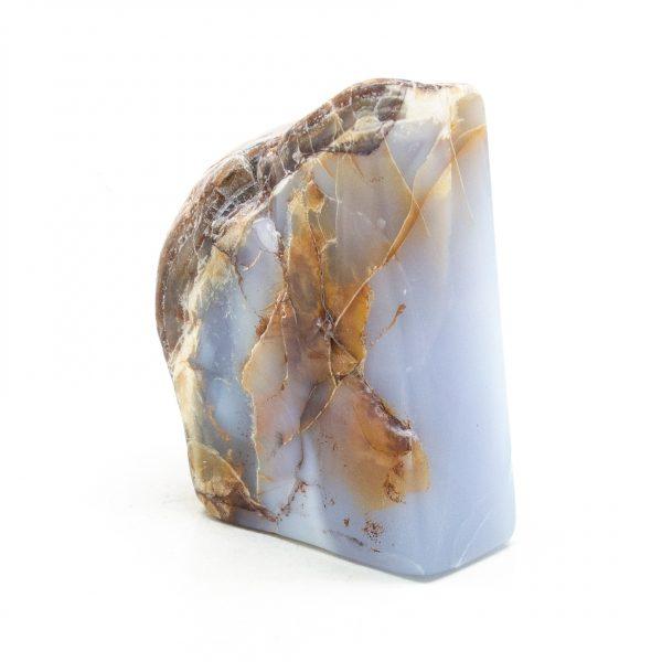 Polished Blue Chalcedony Display Piece-216087