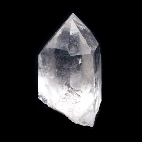 Clear Quartz Diamond Window Crystal-216628